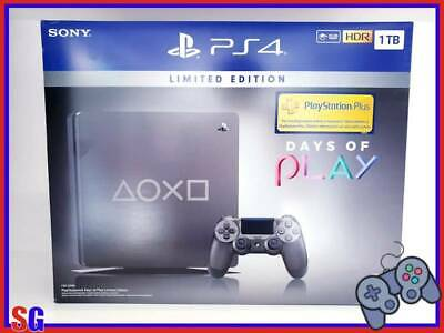 Console Sony Playstation 4 1Tb Limited Edition Days Of Play 2019 Nuova!