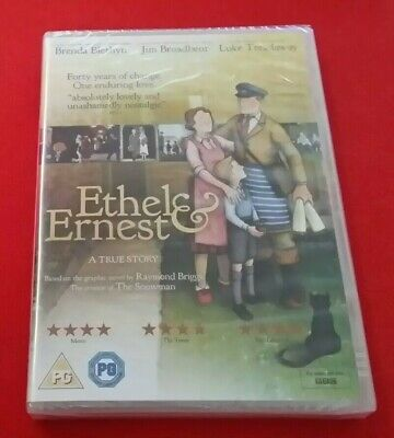 Ethel & Ernest DVD New Sealed FYC Screener Raymond Briggs Animation