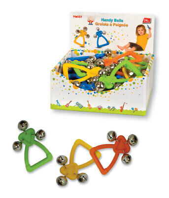 Halilit Handy Bells Assorted Colours - one only