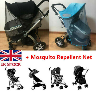Baby/Child Pushchair Stroller Pram Buggy Sun Shade Canopy Cover + Anti-mosquito