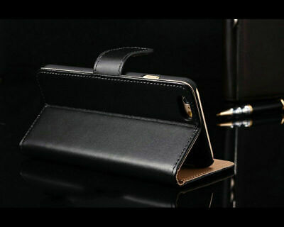 for Various Apple iPhone Models Flip Cover Protective Casing Case Leather Sheath