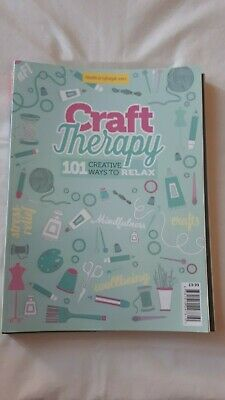 Craft Therapy Magazine - 101 Creative Ways to Relax - New