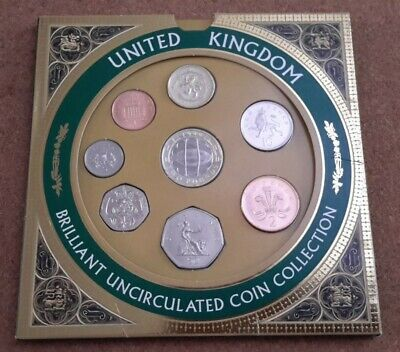 UK 1999 Royal Mint Brilliantly Uncirculated Coin Collection.