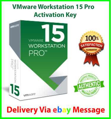 VMWARE WORKSTATION PRO 15 for Windows 5PC Lifetime License Key INSTANT  DELIVERY