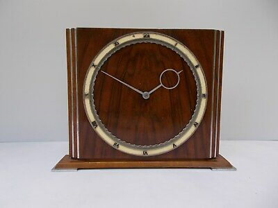 ANTIQUE Table/Mantel CLOCK Designed by HEINRICH MOELLER, Germany