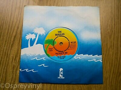 "The Buggles The Plastic Age Original UK 7"" single  Island Records – WIP 6540"