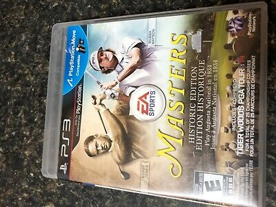 Tiger Woods PGA Tour 14 Masters Historic Edition PlayStation 3 PS3