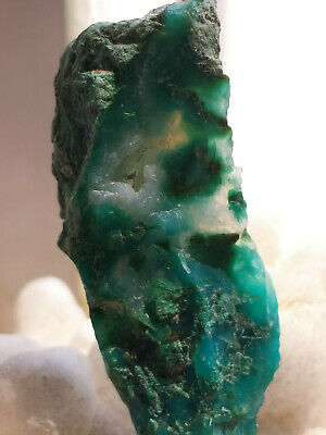 Gem Silica Chrysocolla Rough from Ray Mine, Hayden, Arizona  5.9 Gr. 29.5 Cts.