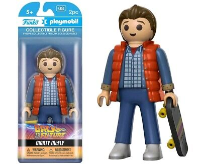 "5""-7"" Figures--Back to the Future - Marty McFly Playmobil"