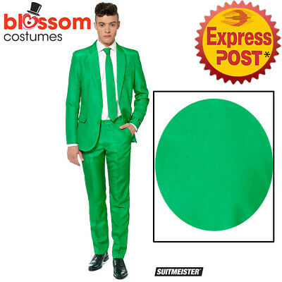 CA1024 Suitmiester Green St Patricks Day Irish Stag Oppo Suits Opposuits Costume