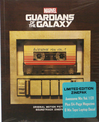 Guardians Of The Galaxy Motion Picture Soundtrack Zinepack Limited Edition