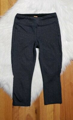 cbd9206f09 Lucy Powermax Womens Leggings Perfect Core Collection Cropped size Small  Gray