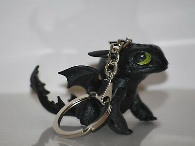 Black Toothless Keychain - How to Train to Your Dragon - C1