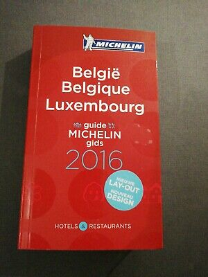 Guide Michelin Belgique Luxembourg 2016