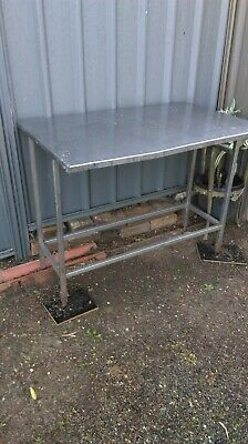 Stainless steel Bench pick up from Blacktown