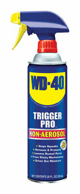 WD-40  Trigger Pro  Lubricant  Bottle