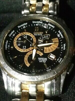 Citizen Calibre 8700 Eco-Drive Men's Chronograph Two Tone 42mm Watch BL8144-54H