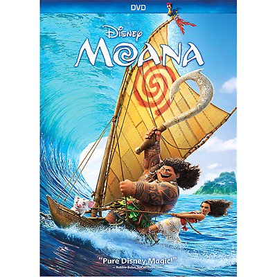 Moana (DVD, 2017) - Brand New Unopened In Shrink Wrap! Free Ship!