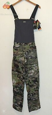 e8f6487479bac Under Armour Brow Tine Womens Size Medium Hunting Bib Forest Camo  1316697-940