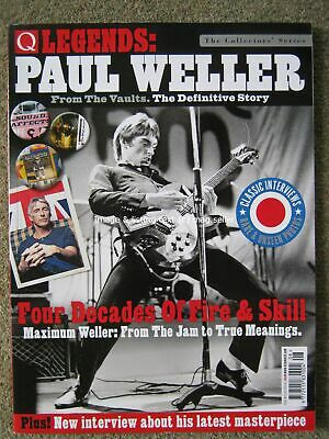 Q Legends Paul Weller The Jam Style Council From the Vaults Definitive Story
