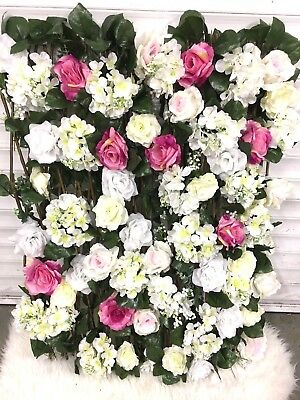 ARTIFICIAL FLOWER WINDOW BOXES £90.00 PER PAIR