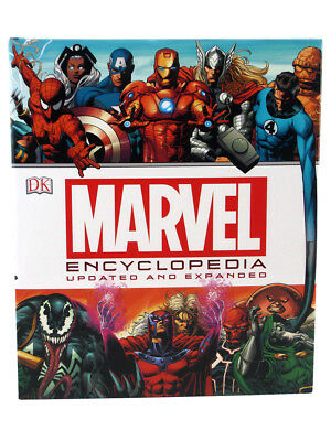 Marvel Universe Encyclopedia Updated & Expanded Hardcover Definitive Guide 2016