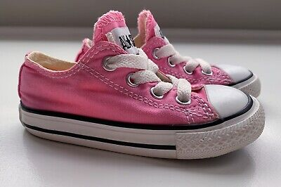Converse Chuck Taylor All Star OX Low Classic pink Toddler 7J238  SSHMO10