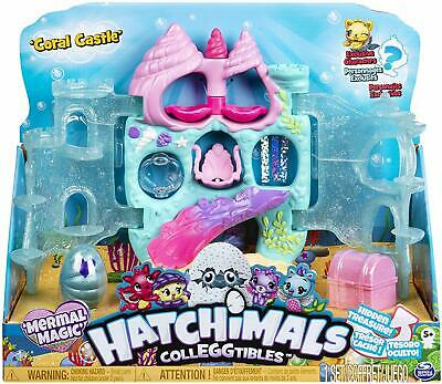 Colleggtibles Coral Castle Playset Mermal Magic Over 25 Exploreable Places