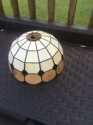Art Deco Style  Stained Glass Ceiling Light Shade / Lightshade Tiff Style