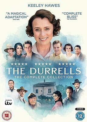 THE DURRELLS Stagioni 1-4 Serie Complete BOX 8 DVD in Inglese NEW .cp