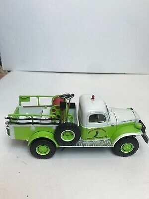 First Gear Dodge Power Wagon Brush Fire Squad Replica w/ Tools 1/34th Scale 1999