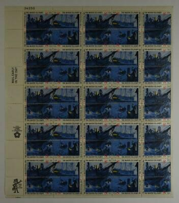 Us Scott 1480-1483 Pane Of 50 The Boston Tea Party Stamps 8 Cent Face Mnh