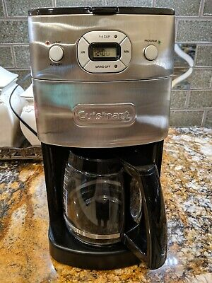 Cuisinart DGB-650BC 12 Cup Grind-and-Brew Coffee Maker - Excellent Condition