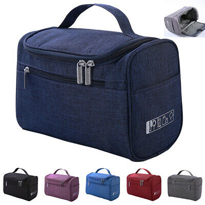 AU Womens Travel Cosmetic Makeup Bag Organizer Toiletry Case Wash Storage Pouch
