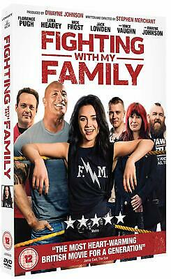FIGHTING WITH MY FAMILY (2019): Comedy, Drama, Dwayne Johnson NEW Rg2 DVD not US