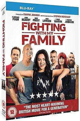 FIGHTING WITH MY FAMILY (2019): Comedy, Drama, Dwayne Johnson NEW RgB BLU-RAY