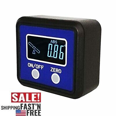 Digital Angle Gauge Protractor Inclinometer/Angle Finder with V-Groove Magnetic