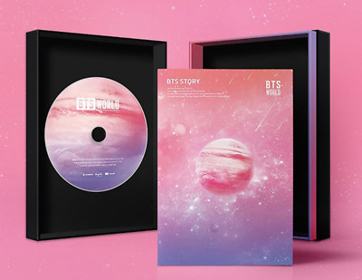 "BTS 2019 "" BTS WORLD OST "" Original Sound Track - 1 Photobook + 1 CD / Free Ship"