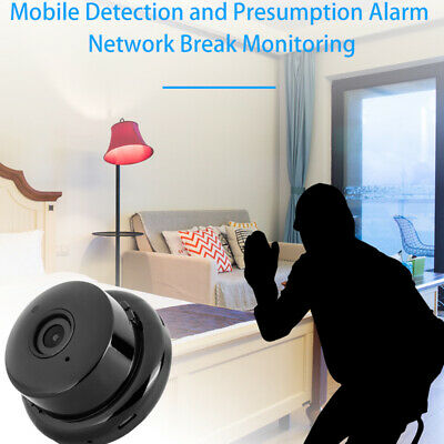 Mini Spy IP Camera Wireless HD 1080P Hidden Network Monitor Security Cam