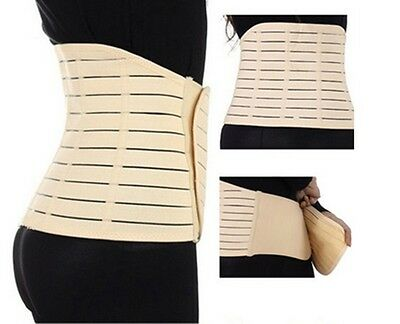 Adjustable Postpartum Recovery Belly Waist Tummy Belt Slimming Body Band LE