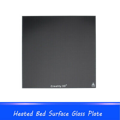 Temperature Resistance Glass Plate Heated Bed Surface Cork Sheet 3D Printer