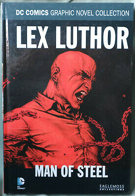 DC Comics LEX LUTHOR Man of Steel Graphic Novel Collection - Eaglemoss