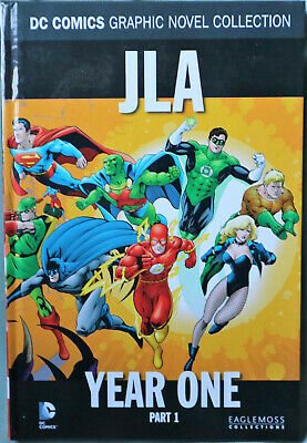 DC Comics JLA Year One Part 1 Graphic Novel Collection - Eaglemoss