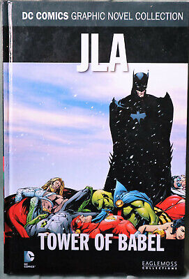 DC Comics JLA Tower of Babel Graphic Novel Collection - Eaglemoss