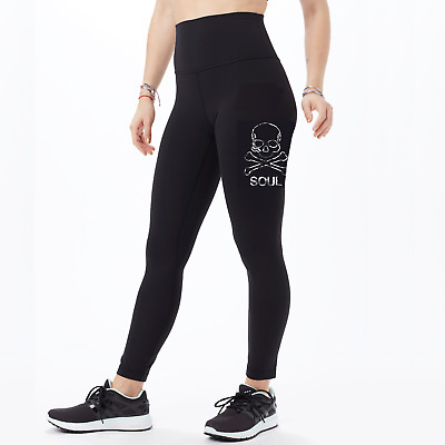 d28a3c188f Lululemon Soulcycle Black Leggings Wunder Under Tight Athletic Workout Pants  2