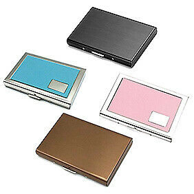 STAINLESS NANO PLATING ANTI-MAGNETIC CREDIT CARDS STORAGE HOLDER PROTECTOR Atom