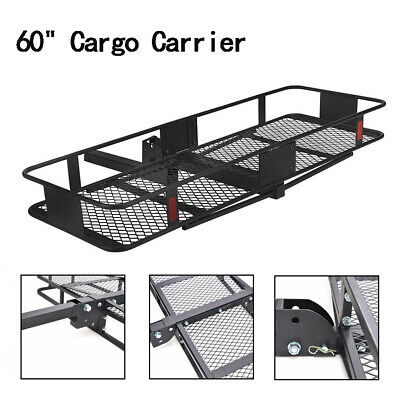 Capacity Tray-Style Trailer Hitch Cargo Carrier CURT 18108 500 lbs