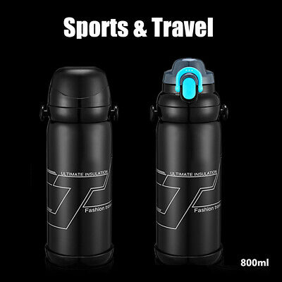 Stainless Steel Vacuum Flasks Coffee Thermos Mug Travel Bottle Insulation Cup US