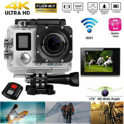A1 4k Full HD Sports Action Camera Waterproof Diving DVR Camcorder Cams 3Colors