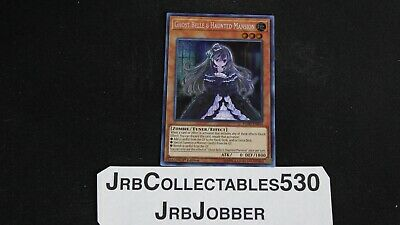 YUGIOH! Ghost Belle & Haunted Mansion FLOD-EN033 1st Secret x1